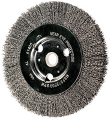 Crimped Wire Bench Wheel 7 In, .014