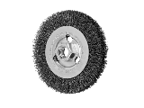Mini Crimped Wire Wheel  4 In, .014