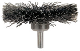 Stem Mounted Crimped Wire Wheel Brush (Sizes)