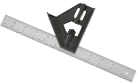 Plastic Handle Combination Square, 12 In
