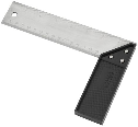 Plastic Try And Mitre Square,  8 In Blade