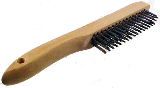 Economy Shoe Handle Wire Brush
