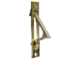 Pocket Door Edge Pull Solid Brass