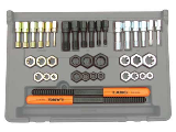 SAE & Metric Thread Restorer Kit, 40 Pieces