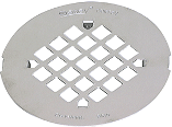 Replacement Floor Drain Strainer, 4-1/4 In