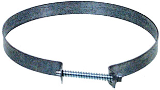 Metal Screw Dryer Duct Clamp, 4 In