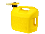 No Spill Diesel Gas Can, 5 Gallon Yellow