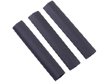 Heat Shrink Tubing, 1/2 In  3 Pack