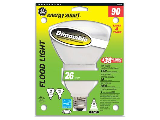 Indoor Compact Fluorescent Dimmable Floodlight, 26 Watt
