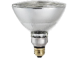 Philips EcoVantage PAR38 Flood Halogen Light Bulb, 72 Watt