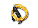 Yellow PowerTech GFCI 12/3 Extension Cord (Lengths)