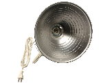 Heavy Duty Clamp Light, 10-1/2 In Reflector
