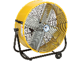 Tilt Direct Drive Barrel Fan, 24 In