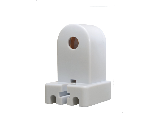 Socket End For Medium Bi-Pin Fluorescent Fixture
