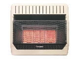 Natural Gas 4 Plaque Heater, 30,000 BTU