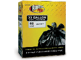 Large Trash Bag 33 Gallon 60 Count