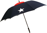 Texas Flag Hurricane Umbrella 60 In Diameter