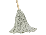 Cotten Head Mop With Wood Handle (Sizes)
