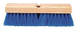 Acid Proof Deck Scrub Brush Extra Stiff Plastic Bristle 10 In