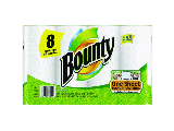 Bounty Paper Towels White 8 Pack