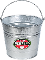 Water Pail Hot Dipped Galvanized (Sizes)
