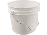 Plastic Paint Pail (Empty)  (Sizes)