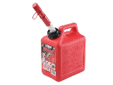 Plastic Gas Can 1 Gallon Red