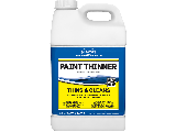 Paint Thinner Crown 2.5 Gallon Plastic Container