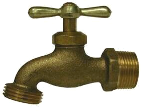 Brass Male Hose Bibb (Sizes)