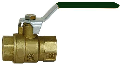 Threaded Ends Brass Ball Valve (Sizes)