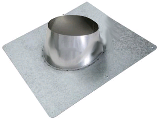 Adjustable Roof Flashing, 6 In  0/12 - 6/12 Pitch