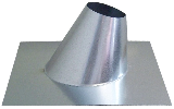 Adjustable Roof Flashing  6 In  7/12 - 12/12  Pitch