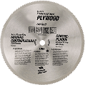 Plywood Circular Saw Blade 8 In, 200 Tooth
