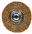 Coarse Crimped Wire Wheel 4 In