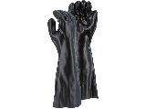 PVC Dipped Smooth Finish Glove 18 In Large