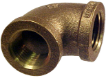 90 Degree Brass Pipe Elbow