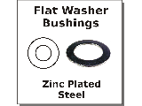 Flat Washer Bushings Steel
