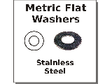 Metric Flat Washers Stainless Steel