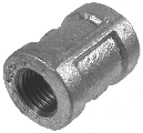 Schedule 40 Galvanized Malleable Coupling