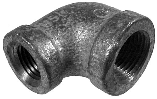 90 Degree Galvanized Reducer Elbow 150 Lb