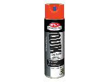 Solvent Base APWA Utility White Paint 17 Oz