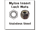 Lock Nuts Nylon Insert Stainless Steel
