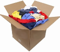 Color Knit Rags 50 Lb Box