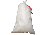 Sand Bag With Tie 14 In x 26 In White