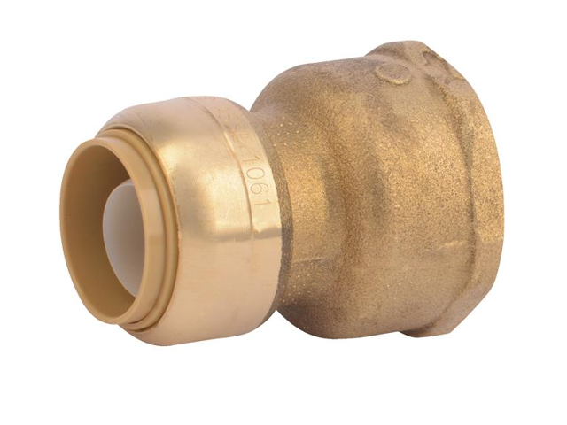"""PLUMBING CASE OF 100  PIECES 3//4/"""" SHARKBITE STYLE PUSH FIT COUPLINGS FITTINGS"""