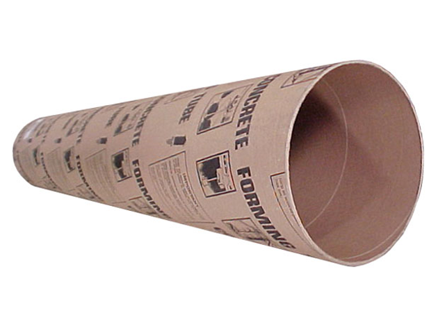Cox Hardware And Lumber Concrete Form Tube 48 In Diameters