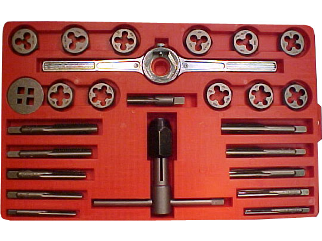 Hardware And Lumber Carbon Steel Fractional Tap Set