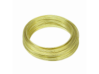 Cox Hardware and Lumber - Solid Brass Wire 22 Gauge, 75 Ft