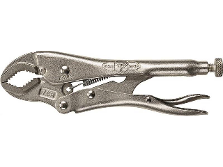 Curved Jaw Vise Grip Locking Plier (Sizes)