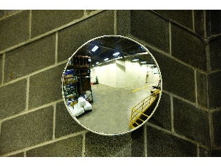 18 In Convex Acrylic Mirror